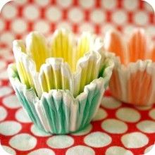 We love cupcakes! These liners are adorable!