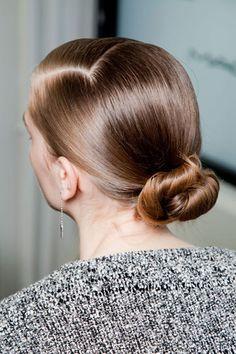 polished bun