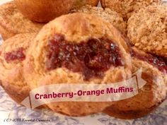 Master Muffin Mix Cranberry-Orange Muffins