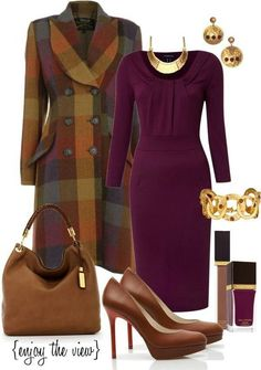 Simple tips to look more stylish in your work clothes Classy Outfits, Chic Outfits, Fall Outfits, Work Fashion, Fashion Looks, Jw Fashion, Fashion Coat, Fashion Beauty, Mode Vintage