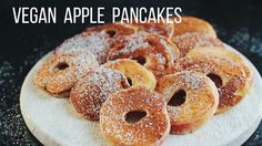 Vegan Apple Pancakes! // Mina Rome