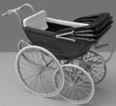 dolls house pram - Google Search