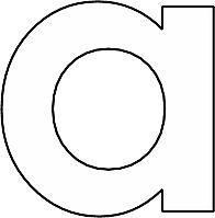 alfabet kleurplaten lettermuur alfabet