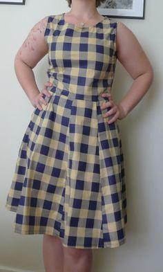 Plaid 50's-ish dress (tutorial on page 2) - CLOTHING