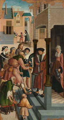 The Athenaeum - The seven Works of Mercy detail (Master of Alkmaar - ) Works Of Mercy, Year Of Mercy, Fine Art Prints, Canvas Prints, Renaissance Artists, Canvas Paper, Old Master, Art Reproductions, Art History