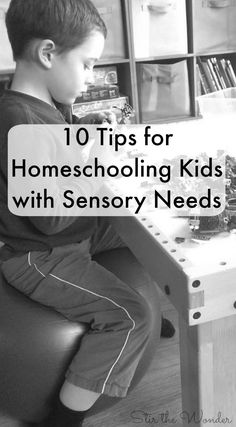 Homeschooling kids with sensory needs can be challenging. Here are 10 tips that you can do to help kids with sensory needs learn at home! Parenting Articles, Kids And Parenting, Parenting Tips, Sensory Activities, Learning Activities, Teaching Kids, Kids Learning, Early Learning, Homeschool Curriculum