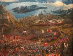 Albrecht Altdorfer, Bitva u Issu, 1529