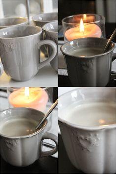 Hemma hos Ingeborg: - En cappuccino , tack -