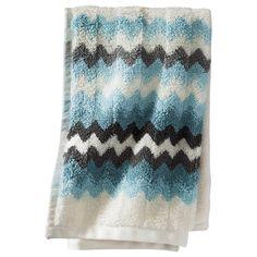 Threshold™ Watercolor Chevron Bath Towels : Target
