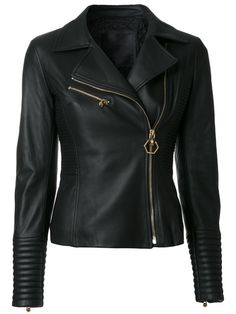 c76c75c6e429 PHILIPP PLEIN fitted biker jacket.  philippplein  cloth   Riders Jacket,  Moto Jacket