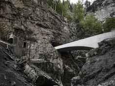 Gallery of Schaufelschlucht Bridge / Marte.Marte Architects - 6