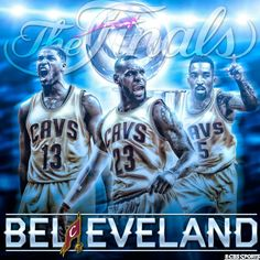 Cleveland Cavaliers fans might feel like it's them against the world. Good thing they have the best player on earth. LeBron James and company are ready. King Lebron James, King James, Lebron James Wallpapers, Cleveland Cavs, Cleveland Rocks, Cbs Sports, Sports Teams, Sports Wallpapers, Nba Champions