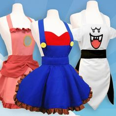 Super Mario Aprons Shut Up And Take My Yen : Anime & Gaming Merchandise