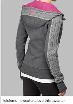 Awesome Lulu Lemon sweater