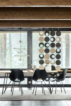 Tapio Anttila Collection - FRONT table, LIMI chair, PUNNUS pendant lamp