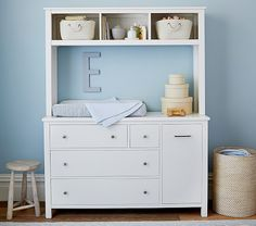 Changing Station Now Dresser With Hutch Later Madison