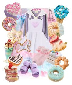 """notitle"" by mumachan on Polyvore featuring ファッション と Cotton Candy"