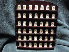 Vintage Franklin Porcelain LE First Lady Thimbles Set 43 Fine Bone  in Collectibles, Decorative Collectibles, Decorative Collectible Brands, Franklin Mint, Other Franklin Mint | eBay