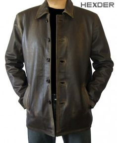 $189.00 - Distressed Dean Winchester Leather Jacket