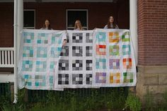 More grad quilts (5) by Renae@CreativeChicks, via Flickr