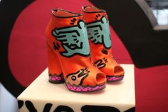 keith haring shoes?!