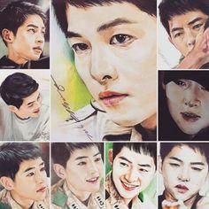 Song Joong Ki Descendants Of The Sun Fan art