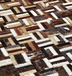 Leatherwork 8108666 Style Rug from the Cowhide Rugs collection at Modern Area Rugs