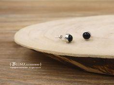 英倫貴族純銀耳環-BLUMA布瑪小鎮設計師手作銀飾&復古飾品-