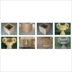 Concrete Materials, Reinforced Concrete, Building Exterior, Lawns, Decorative Items, Fiber, Planters, Gardens, Patio