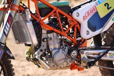 Serial winner – KTM 450 RALLY