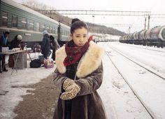 Yu Aoi, Yoko Takahashi, Dandelion Photo Book Yu Aoi, Snow Girl, Aesthetic Beauty, Mori Girl, Winter Photography, Yoko, Japan Fashion, Winter Wear, Woman Crush