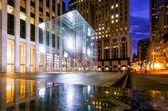 The Apple Store, New York City, New York, America by Joe Daniel Price on 500px