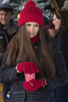 Christmas Pics: The Vampire Diaries