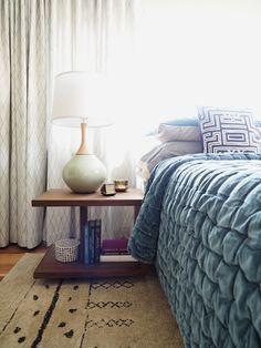 A grown-up bedroom w