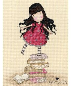 Gorjuss New Heights Cross Stitch Kit £21.00 | Past Impressions | Bothy Threads