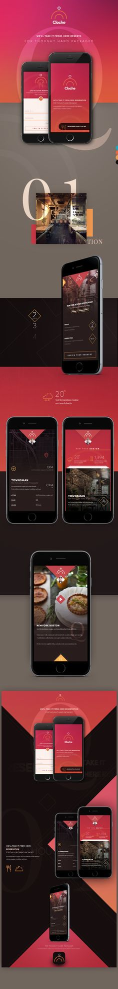 Cloche on Behance