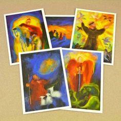 Saints and Festivals Postcard Set