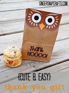 cute & easy thank you gift...would be perfect for teacher appreciation week!