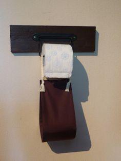 Bad-Accessoires - Reservetoilettenpapierhänger aus Baumwolle - ein Designerstück von Nadeltasse bei DaWanda Shops, Toilet Paper, Etsy, Bathroom, Hang In There, Cotton, Washroom, Tents, Full Bath
