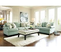 These couches would accent my living room so well with my two tones neutral wall with chair rail!