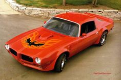 1973 Pontiac Trans Am....I thought the earlier models had racing stripes instead of the Firebird?