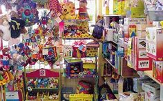 The average ten-year-old child has toys worth almost £7,000 but plays with   just £330 worth of them, a study has shown.