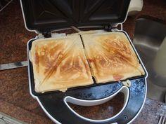 Aprenda a preparar a receita de Crepe suíço de sanduicheira