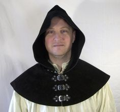 leather hood larp - Google Search