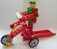 Outreach with Linda Hamilton Lego Wedo, Lego Duplo, Lego Robot, Lego Toys, Building For Kids, Lego Building, Lego Machines, Lego Activities, Simple Machines