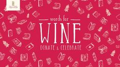 #Words4Wine – Exchange a book for a glass of wine!