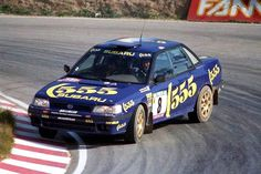 Subaru Legacy rally car
