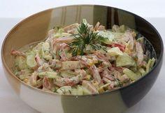 Самые вкусные рецепты: Салат с яйцом и ветчиной