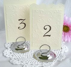 TABLE NUMBER STANDS? | Weddings, Style and Decor, Planning | Wedding Forums | WeddingWire