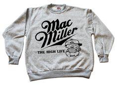 MAC MILLER HIGH LIFE CREWNECK